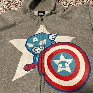 Tokidoki x Marvel Captain America hoodie